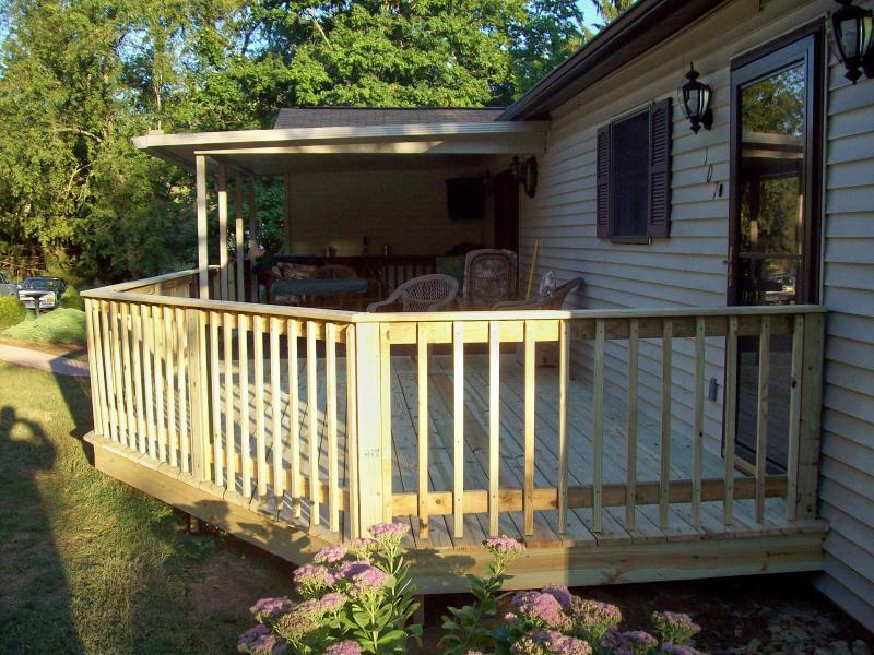 Deck extentions