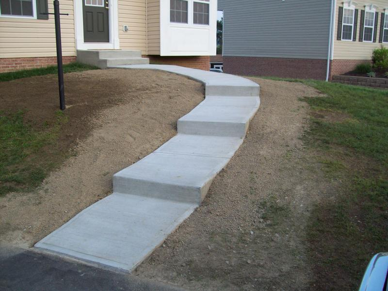 sidewalk www.bloughcontracting.com washington pa., 724-531-1145