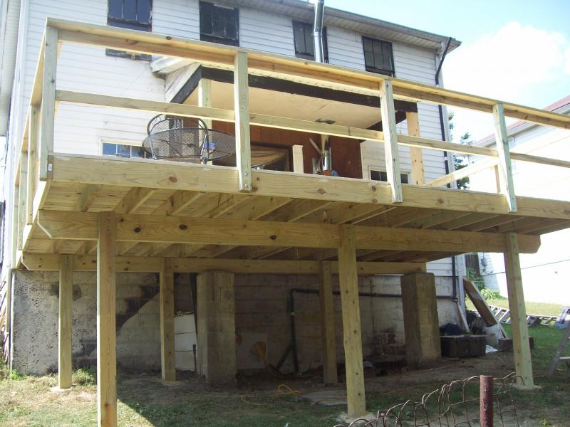 deck, blough contracting washington pa.